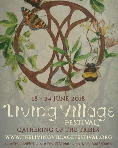 Illustratie: The Living Village Festival